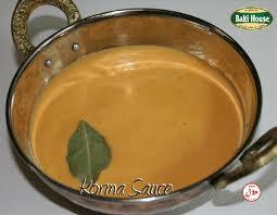 Korma Sauce