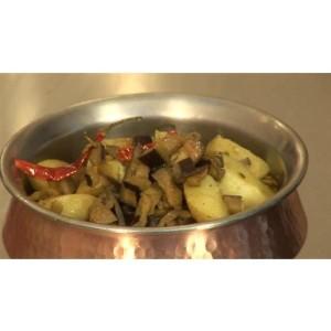 aubergine bhaji