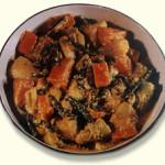 aubergine bhuna