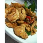 chicken prawn